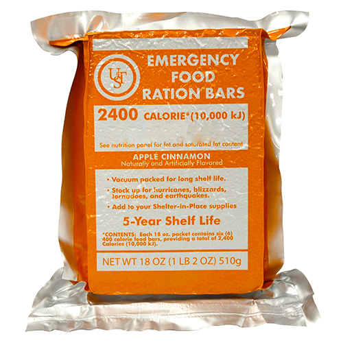 Ultimate Survival Technologies Emergency Food Ration Bars PDQ 4-ct 20-02020-06