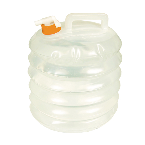 Ultimate Survival Technologies Water Carrier Accordion 8L, Clear 20-02132-10