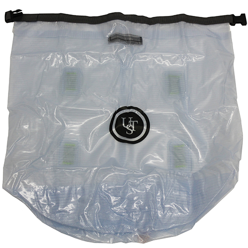 Ultimate Survival Technologies Watertight Clear PVC Dry Bag, 55L 20-02163-10M