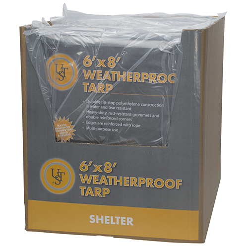 Ultimate Survival Technologies Weatherproof Tarp 6'x8'  20-02725