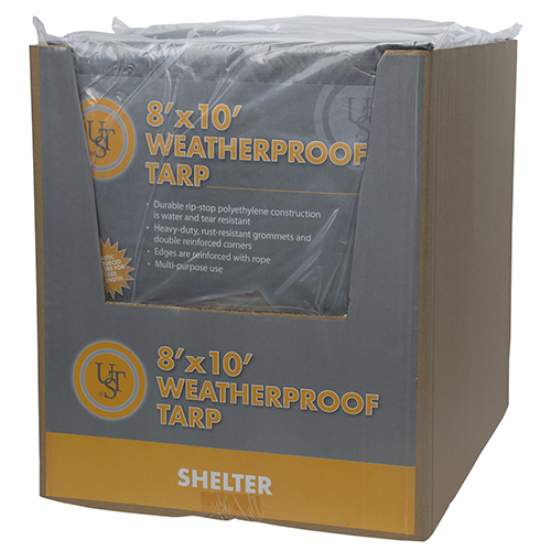 Ultimate Survival Technologies Weatherproof Tarp8'x10' 20-02726