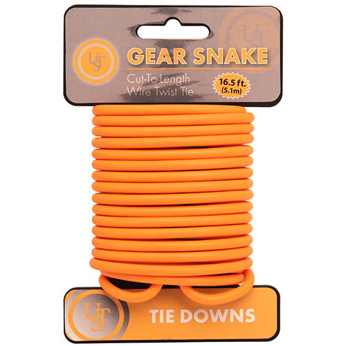 Ultimate Survival Technologies Gear Snake, Orange 20-90887-08