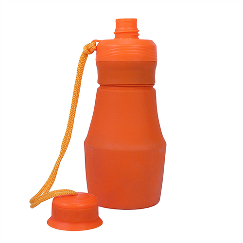 Ultimate Survival Technologies FlexWare Water Bottle, Orange 20-CKT0026-08