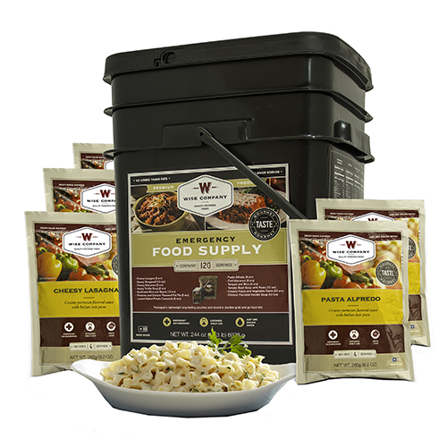 Wise Foods Entrée Only Grab&Go Bucket 120 Serving 01-120
