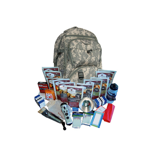 Wise Foods 2 Week Essential Survival Backpack (Camo) 01-601 CAMO