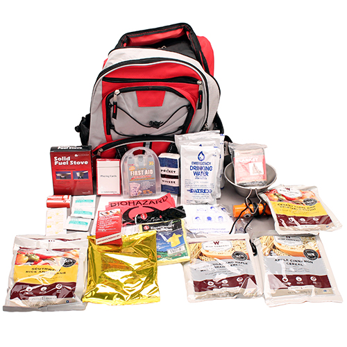 Wise Foods 5 Day Survival Back Pack (Red) 01-621GSG(Red)