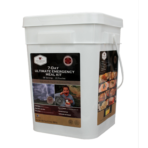Wise Foods Ultimate 7 Day Emergency Kit Bucket 01-858