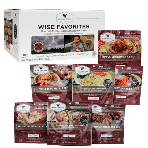 Wise Foods Wise Favorites 7 Pouches 05-713