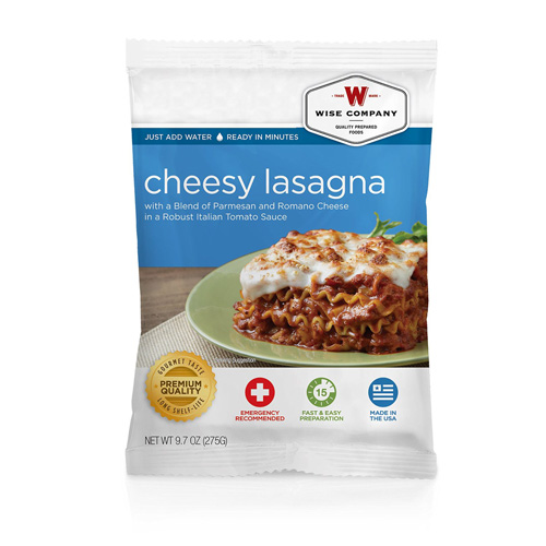 Wise Foods Cheesy Lasagna (4 srv) 2W02-201
