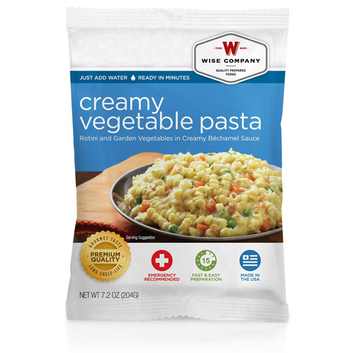 Wise Foods Creamy Pasta & Vegetable Rotini (4 srv) 2W02-202