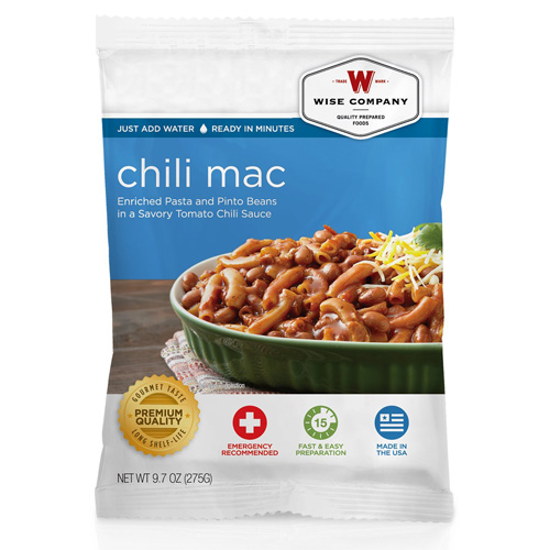 Wise Foods Chili Macaroni  (4 srv) 2W02-207