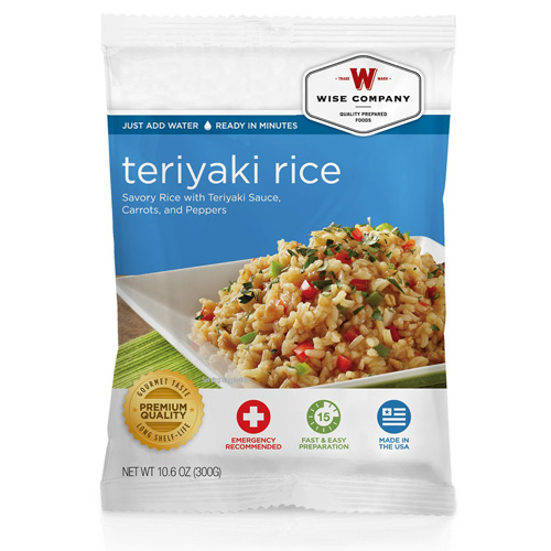 Wise Foods Teriyaki & Rice  (4 srv) 2W02-208