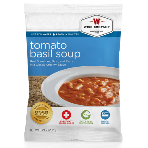 Wise Foods Tomato Basil Soup with Pasta  (4 srv) 2W02-210