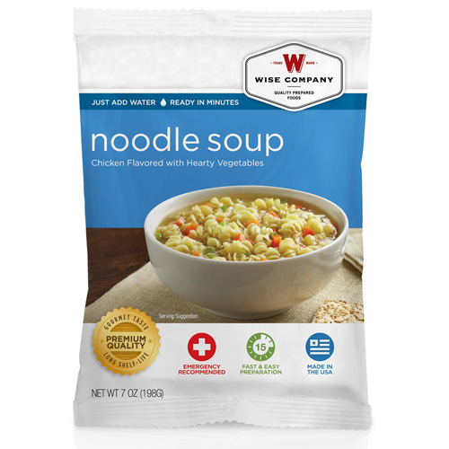 Wise Foods Chicken Noodle Soup (4 srv) 2W02-217