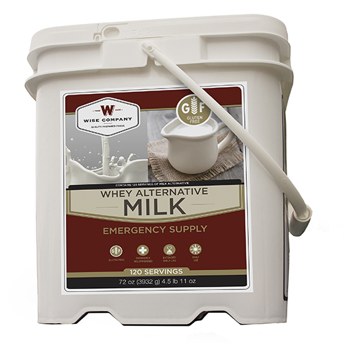 Wise Foods 120 Serving Milk Bucket MK01-120