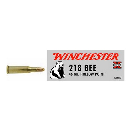 Winchester Ammo SupX 218 Bee 46grHP /50 X218B