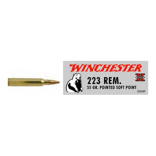 Winchester Ammo SupX 223 Rem 55gr PTD SP /20 X223R