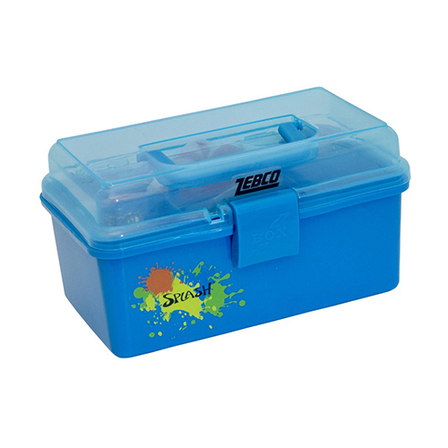 Zebco / Quantum SPLASH TACKLE BOX ASST W/TACKLE SPLASHTBX,,HT6