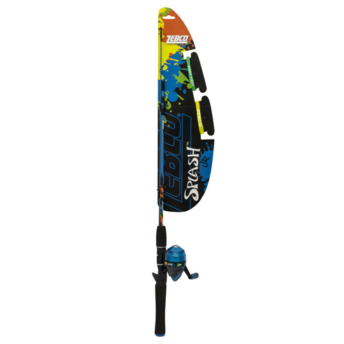 Zebco / Quantum Splash Junior Boy 402 Sc Combo YSPLSCJBL,06,FB6