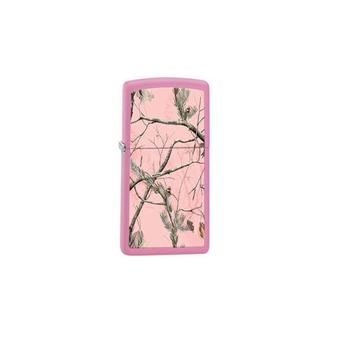 Zippo Outdoors Windproof Lighter,RT APC,Pink Matte, ODBG 28078
