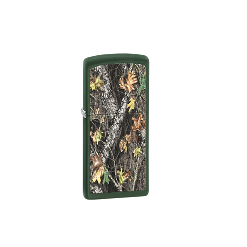 Zippo Outdoors Windproof Lighter -MOBI - Grn Matte-ODBG 28332