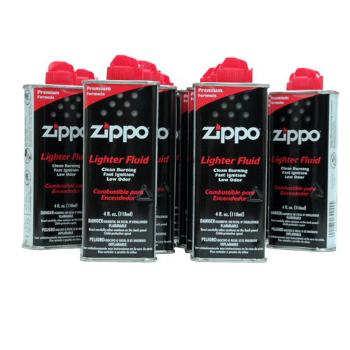 Zippo Outdoors Lighter Fuel - 4.0 oz-12 Cans 3341