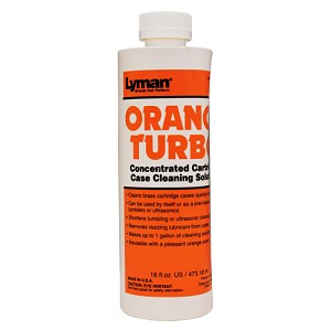 Lyman Orange Turbo Case Clng Concentrate 16 oz 7631355