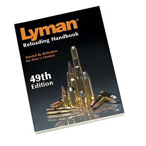 Lyman 49th Edition Reloading Book, Soft 9816049