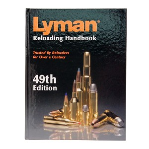 Lyman 49th Edition Reloading Book, Hard 9816052