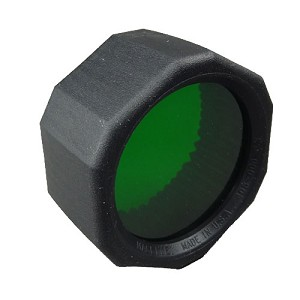Maglite NVG Lens Green with Holder C or D Cell 108-000-612