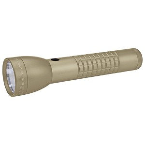 Maglite LED 2-Cell C Blister Pack ,Coyote Tan ML50LX-S2RK6