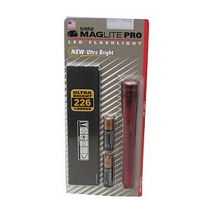 Maglite Mini Mag Led Pro Red SP2P03H