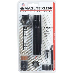 Maglite 3-Cell LED Tactical Blister Pack ,Black XL200-S301C