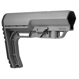 Mission First Tactical Battlelink Minimalist Stock  MilSpec Gry BMSMILGY