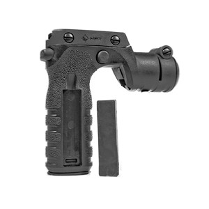 Mission First Tactical React Torch & Vertical Grip Blk RTG