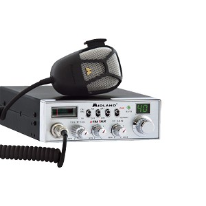 Midland Radios 40 Ch Full Feature Mobile CB Radio w/PA 5001
