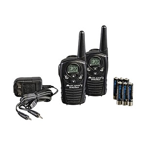 Midland Radios FRS/GMRS 22 Ch/18Mi Batteries/Charger /2 LXT118VP