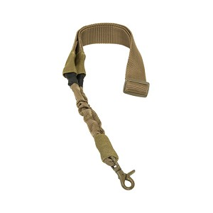NcStar Single Point Bungee Sling/Tan AARS1PT