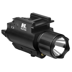NcStar Red Laser Sight/3W Light Combo AQPFLS