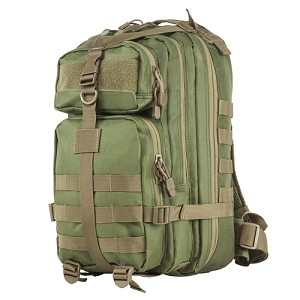 NcStar Vism Small Backpack/Green With Tan Trim CBSGT2949