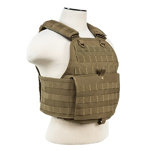 NcStar Plate Carrier Vest/Digital Tan CVPCV2924T