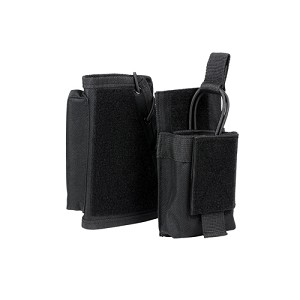 NcStar Stock Riser With Mag Pouch/Black CVSRMP2925B