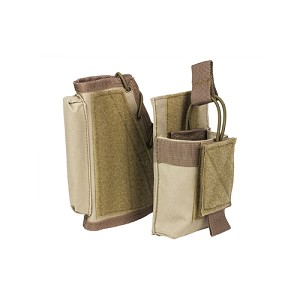 NcStar Stock Riser With Mag Pouch/Tan CVSRMP2925T