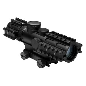 NcStar 2-7x32Scope/3Rail/BL IL RF/GN/WVR SEC3RSR2732G