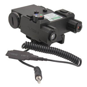 NcStar Green Laser 4X Led Nav Light Box/QR Mount VLG4NVQRB