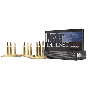 Nosler 308 Win 168gr Bonded Solid Base /20 39685