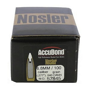 Nosler 6.8mm 100gr Cann 540 AccB (50 ct) 57845