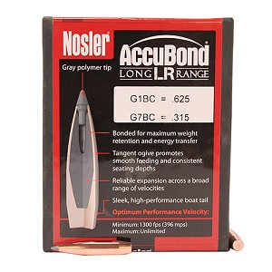 Nosler ABLR 6.5mm 142gr SP /100 58922
