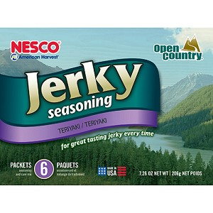 Open Country Jerky Spice 6-Pack - Teriyaki BJT-6