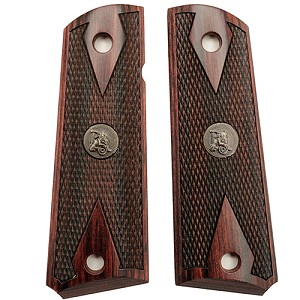 "Pachmayr Colt 1911,""Double Diamond Rosewood"" 440"